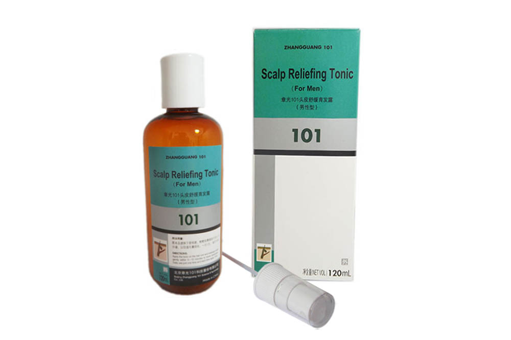 Zhangguang 101 Scalp Reliefing Tonic for men (export-packing)